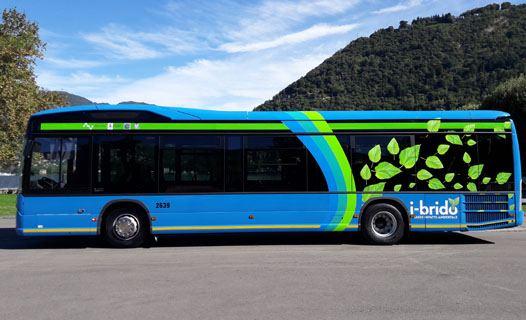 Bus Scania ibrido