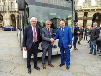 BYD ebus a Torino