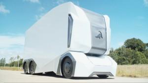 einride t-pod autonomous electric truck prototype