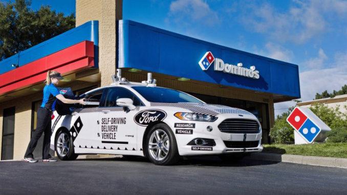 Ford e Domino's Pizza