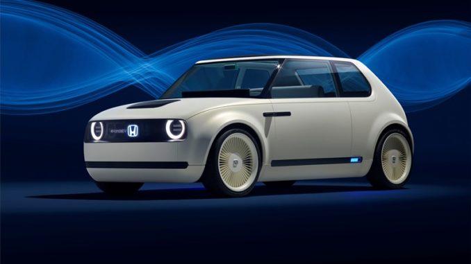 Honda Urban EV Concept Frankfurt Motor Show