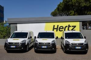 PSA Berlingo e Hertz
