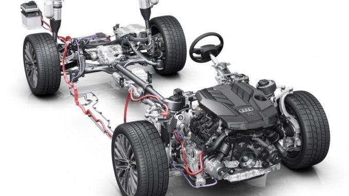 audi mild hybrid A4 A5