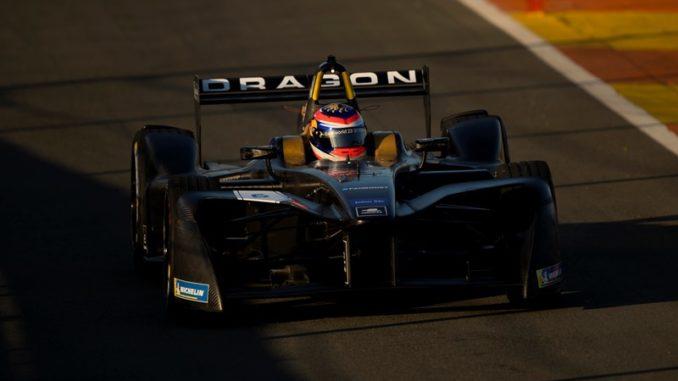 dragon racing 2017 2018 FIA Formula E Championship Official Test Valencia,