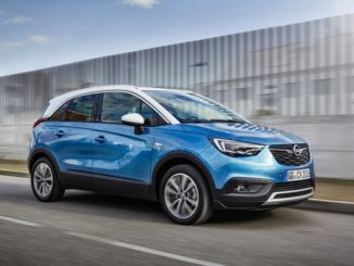 Opel Crossland X with LPG
