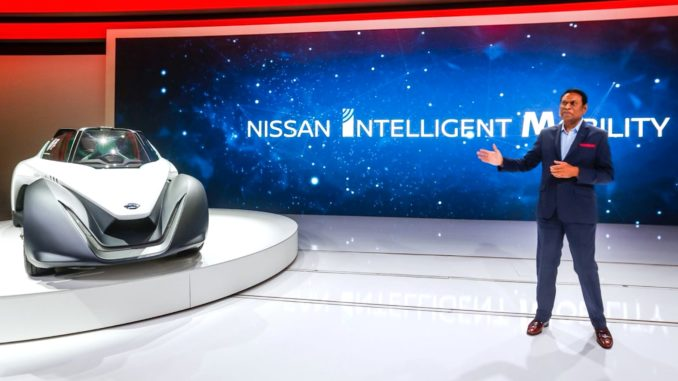 Nissan Dubai show