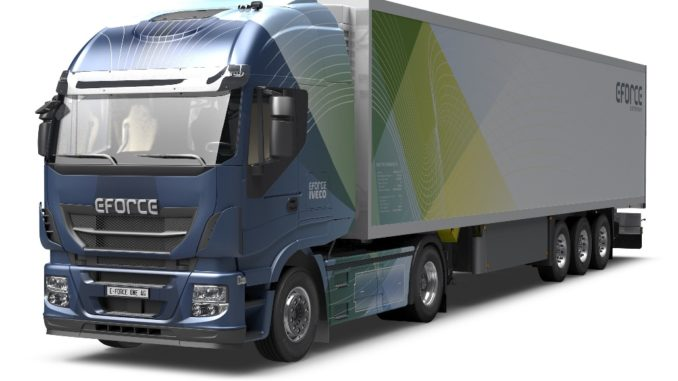 camion elettrico eforce one