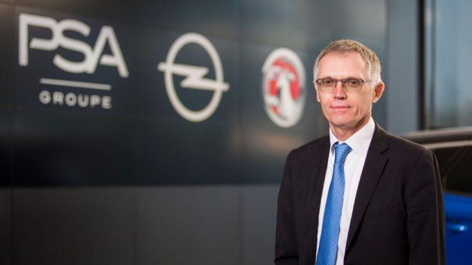 Carlos Tavares, CEO Gruppo PSA
