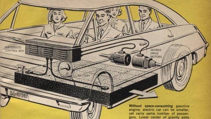 Storia auto elettriche 1966