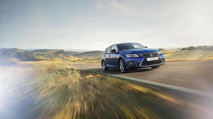 Lexus CT Hybrid Model Year 2018