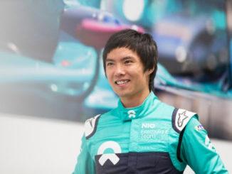 Ma Qin Hua Nio Formula E Team