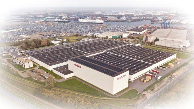 Nissan tetto solare