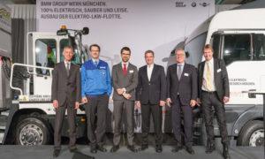 electrick trucks bmw group logistic monaco