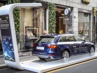 Audi G-Tron Via Montenapoleone