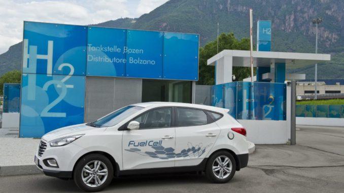 Hyundai Tour idrogeno