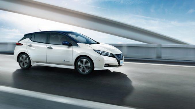 Nissan Leaf Awarded