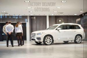 Volvo autonomous drive