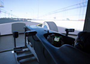 Audi simulatore Formula E