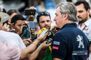 Carlos Sainz Team Peugeot Total