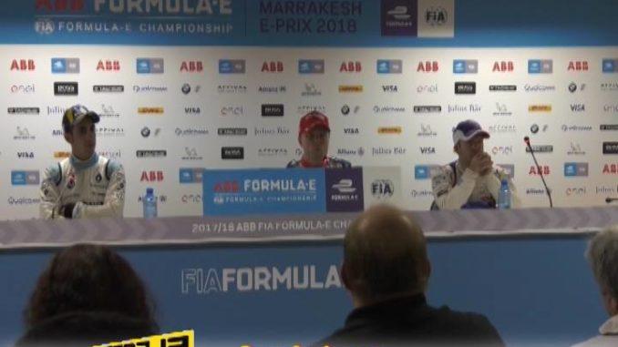 Formula E Press conference