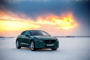 Jaguar I-Pace test Sweden