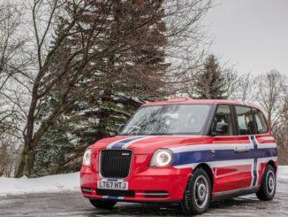 LEVC Taxi elettrico Norvegia