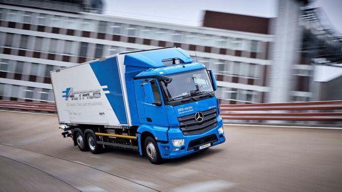Mercedes Benz eActross
