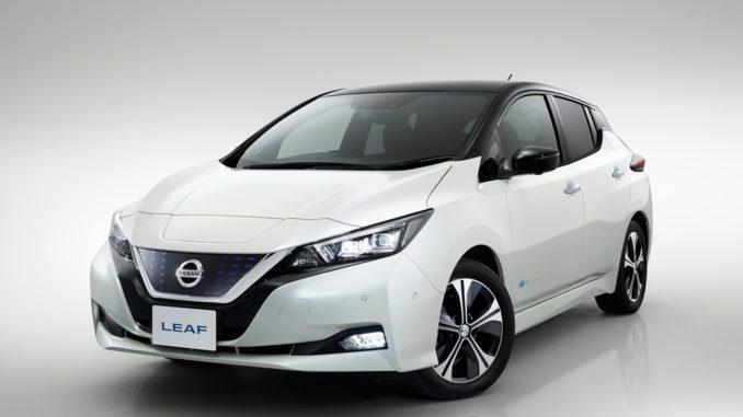 Nuova Nissan Leaf cinque stelle