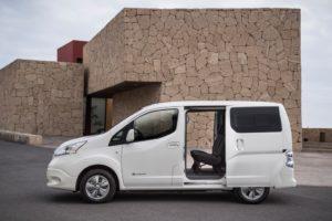 Nuovo Nissan e-NV200