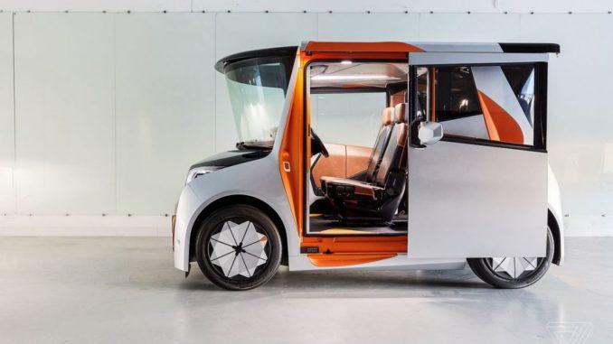 Redspace Electric Car