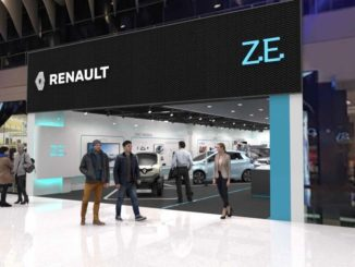 Renault EV store
