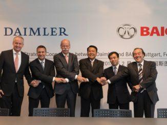 Daimler e BAIC
