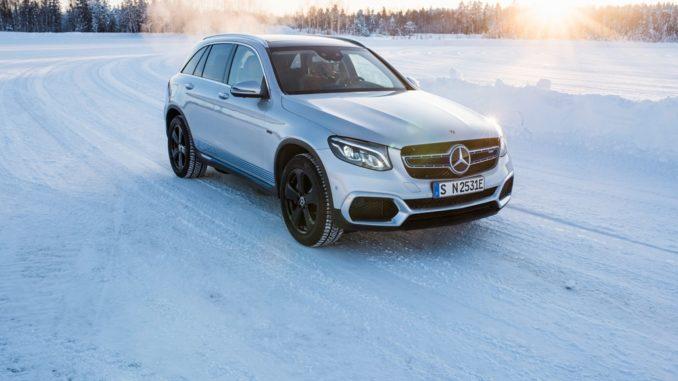 Mercedes-Benz EQC e GLC F-CELL