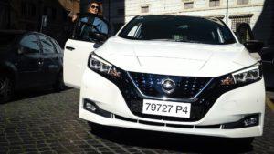 Nissan Leaf Tessa Gelisio