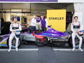 DS Virgin Racing Stanley Black and Decker