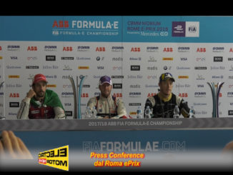 Press Conference Piloti Roma ePrix