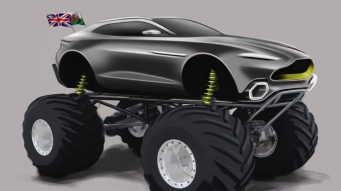 Aston Martin Monster Truck