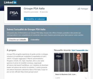 PSA Social Media