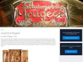 Peugeot Portale WEB