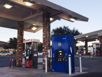 hydrogen station California