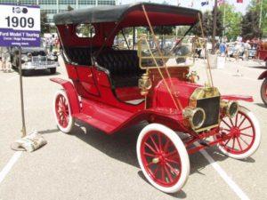 Auto elettrica storia