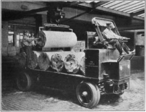 Camion elettrico Curtis Publishing Company 1912