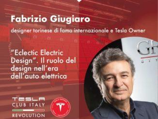 Tesla Club Italy Fabrizio Giugiaro