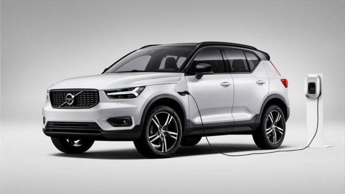 New Volvo XC40 T5 plug-in hybrid