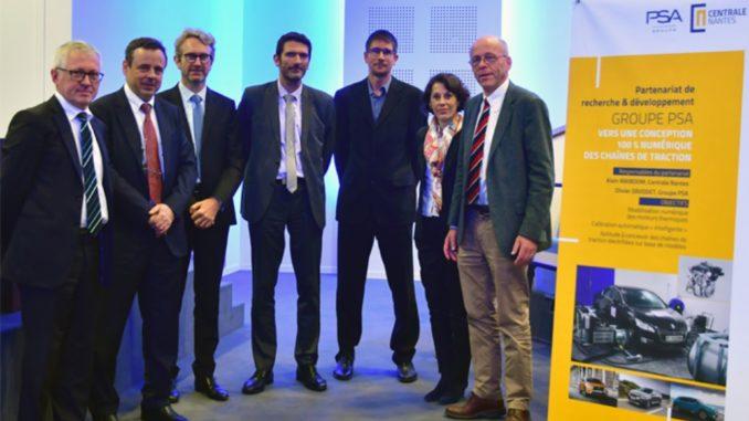 Groupe PSA Centrale Nantes