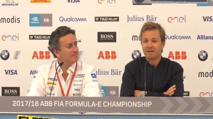 Agag Rosberg Berlin ePrix