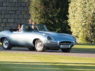 Jaguar E-Type matrimonio reale