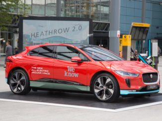Jaguar I-PACE Heathrow