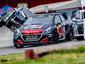 Peugeot Total Rallycross Belgio