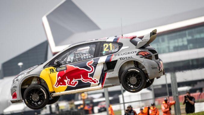 Team Peugeot Total Silverstone